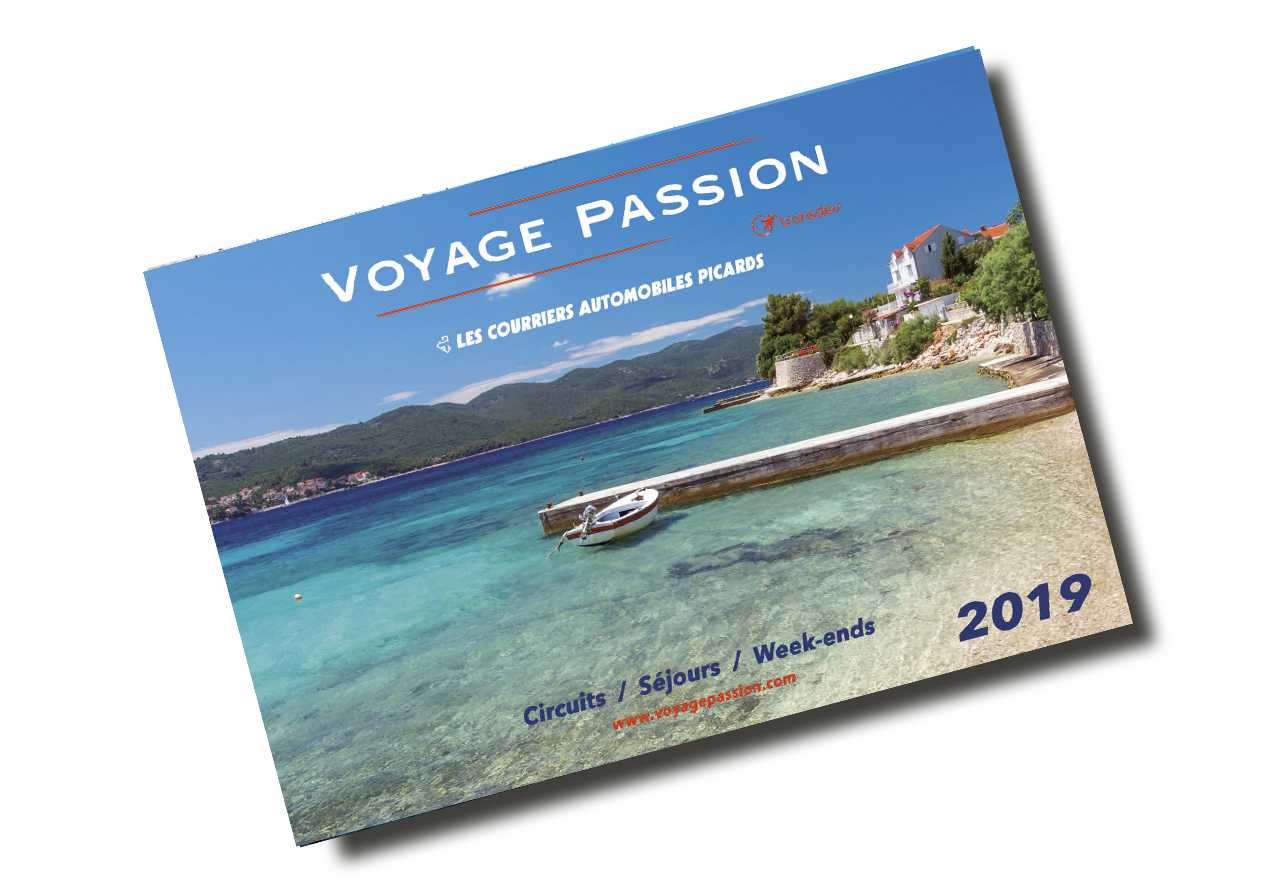 Couverture du catalogue Voyage Passion